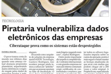 Pirataria vulnerabiliza dados eletrônicos das empresas – Diário do Comércio