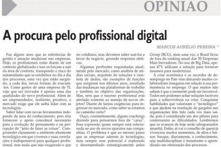 A procura pelo profissional digital