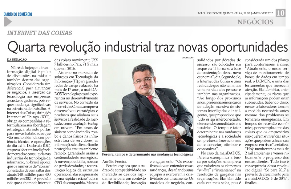 Diário do Comércio 19.01.2016
